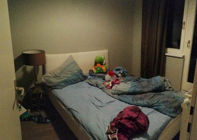 Bécsi lakás (hálószoba, és a folyton leszakadó ágy)